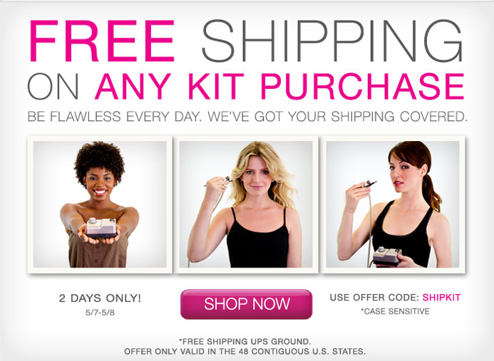 Free makeup and shipping
